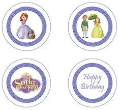 Sofia the First Party Circles FREE PDF Download