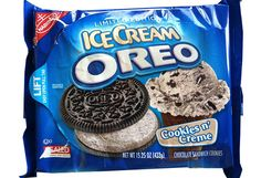 Cookies n' Creme Ice Cream Oreos