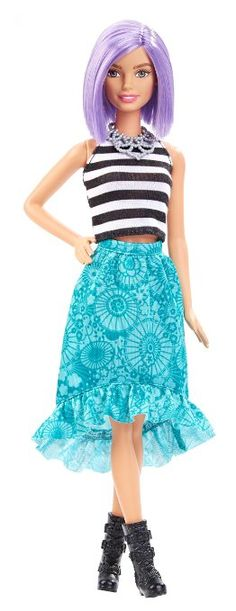 Barbie Fashionistas Muñeca 18 Va-Va-violeta - Original