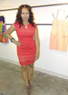 Blogger, Baby Shopaholic at Laundry by Shelli Segal Spring/Summer Preview