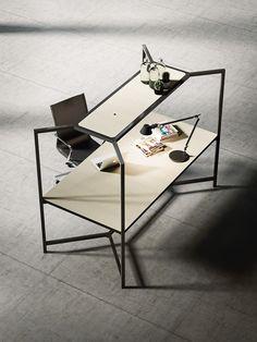 HUB Poste de travail by FANTONI design Matteo Ragni