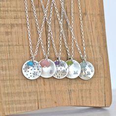 Personalised Bridesmaids Necklaces