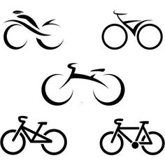 Find Stylized Bicycle Vector Illustration stock images in HD and millions of other royalty-free stock photos, illustrations and vectors in the Shutterstock collection. Bicycle Tattoo, Bike Tattoos, Bee Silhouette, Silhouette Vector, Cycling Quotes, Cycling Art, Free Vector Images, Vector Free, Bike Drawing