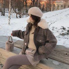 Mishow 2020 Women New winter clothing thicken woolen jacket female Kor – Celiati