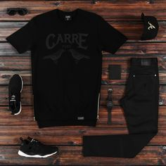 Outfit grid - As black as night