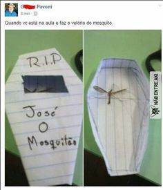 José o mosquito kkkkkkkkkkkkkkkkkkkkkkkkkkkkkkkkk Really Funny Memes, Crazy Funny Memes, Funny Animal Memes, Funny Relatable Memes, Funny Jokes, Memes Humor, Memes Status, Funny Photos, Funny Images