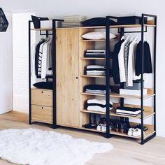 Decoracion de closet Minimalista