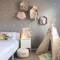 206 Best Girls Bedrooms Images On Pinterest In 2018 Child Room