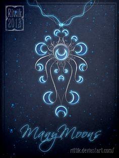 Amulet - ManyMoons by Rittik.deviantart.com on @deviantART