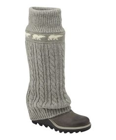 Lux Crazy Cable Wedge Boot
