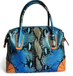 REAL LEATHER 2013 New Serpentine Pattern Genuine Leather Women Handbags Brand Ladies Cowhide Bride Bags Women's Bags 308