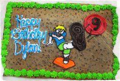 Boy's Birthday Cake Boy Birthday, Birthday Cake, American Cookie, Cookie Cakes, Birthday Cakes, Cake Birthday
