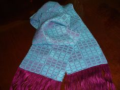 Check this out at https://www.etsy.com/shop/JoyfulNoiseWeaving Don't you just love this beautiful, hand woven ladies scarf ?  This luxurious hand woven scarf is the perfect choice for that little black dress or that summer t-shirt and jeans. Its rich, beautiful colors will add the perfect touch to any outfit and the lovely texture of the scarf will allow you to wear it all year long!   Get yours today! .
