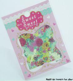 Colaboración con Lady Queen: Water decals splatter y rosas modelo SH-12 y anillo cremallera