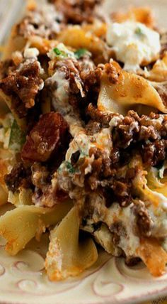 Beef and Noodle Bake