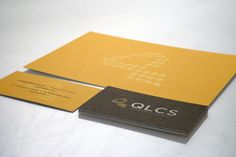 Stationery package for QLCS lighting company
