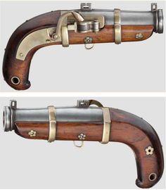 Would love these in my study: Japanese matchlock pistol - Edo Period.