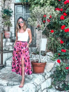 Seven Looks that I used on the trip to the South of France - Gabi May Paris Outfits, Summer Outfits, Casual Outfits, Cute Outfits, Fashion Outfits, France Outfits, Foto Casual, Photography Poses Women, Girl Photo Poses