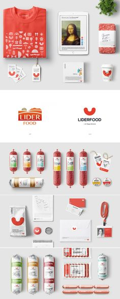 Liderfood's Flexible Identity System Adds Whimsey to the Meat Industry — The Dieline | Packaging & Branding Design & Innovation News
