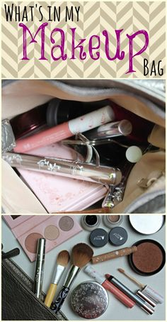 What's in my makeup bag? Yes, I wear makeup and yes, it's all natural. Let me show you exactly what I use!