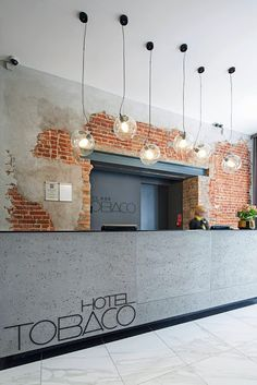 Reception Desks in Raw Industrial Style | Norse White Design Blog