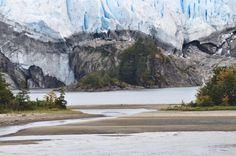 Glaciares, cordillera de Darwin, sur de Chile