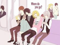Tags: DEATH NOTE, L Lawliet, MADHOUSE, Near (I see Misa and Takada in the background. Smiling. Together.)