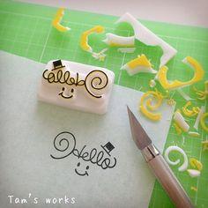 Soap Packing, Eraser Stamp, Stamp Carving, Handmade Stamps, Miniature Crafts, Tampons, Doodle Drawings, Planner, Linocut Prints