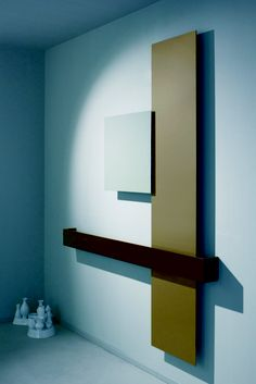 Tubes Radiatori | Square composition. Square, modern, abstract, radiator/heater or towel warmers