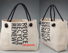 Eco Fashion: The Beau Soleil Reduce, Recycle & Renew Tote Beni Bischof, Fashion Handbags, Fashion Bags, Fashion Trends, Paper Bag Design, Eco Friendly Bags, Wholesale Bags, Green Bag, Purses And Bags