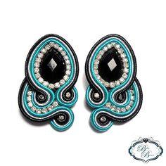 Shibori, Ribbon, Delaware, Instagram, Earrings, Diy, Pearl Earrings, Soutache Jewelry, Stud Earrings