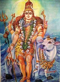 Kala Ksetram — Shiva and Nandi Shiva Hindu, Shiva Shakti, Hindu Deities, Hindu Art, Shiva Art, Rudra Shiva, Ganesha Art, Krishna Art, Krishna Images