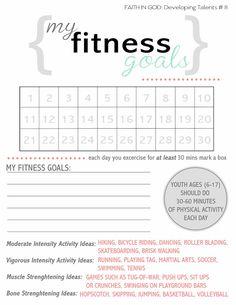 Activity Days: Fitness