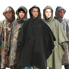 Waterproof Poncho Hunting Festival Rain Army Fishing Jacket Trousers All Colours Unique Birthday Gifts, Mom Birthday Gift, Festival Gear, Festival Outfits, Bushcraft, Mens Poncho, Waterproof Poncho, Fishing Jacket, Rain Poncho