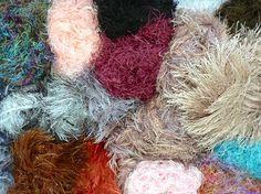 fuzzy yarns!