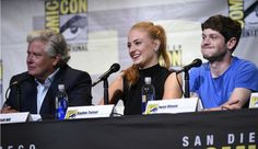 Game of Thrones:  Now that winter has arrived, the cast and creators of Game of Thrones had much to discuss with moderator Rob McElhenney at San Diego Comic-Con. Read  a recap after the jump.