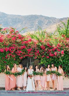 palms spring wedding