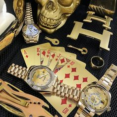 Golden Essentials Tag a gent who'd salivate Love watches? Follow us