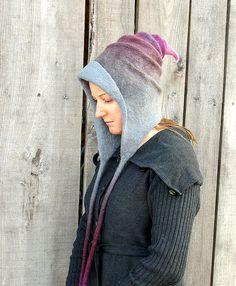 Fairy Hat. Pixie Hat. Wizard Hat. Witch Hat. Felt Hat. Ren Faire Hat ... c32da2611d3