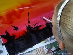 Use Your Coloured Pencils: Bushfire Paintings
