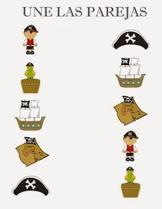 Yo Ho, Yo Ho a pirate's life for me! I'm not sure what the fascination is with pirates but my Little Mister thinks they are great. I admit. Preschool Pirate Theme, Pirate Activities, Preschool Crafts, Pirate Day, Pirate Birthday, Pirate Crafts, Kids Daycare, Toddler School, Pirate Treasure