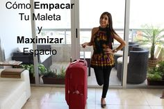 Empaca Como Un Profesional: Cómo Empacar una Maleta & Maximizar Espacio...