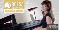 Estão abertas as inscrições para o processo seletivo no Programa de Bolsas de Estudos 2015 do Atelier de La Musique. E