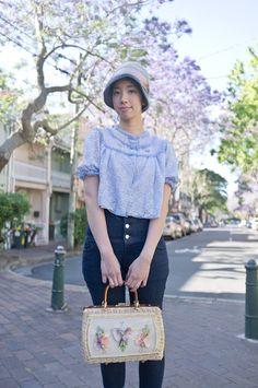 NoraFinds | Vintage Fashion Blog Sydney | Purple Haze