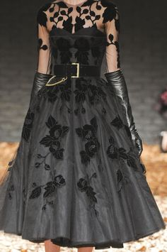 Oh Wow. I don't know how I've not come across this dress before - I adore it. McQueen fall 2012