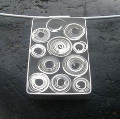 Carla Pennie Jewelry Design – Pendants – Silver Swirl Pendant