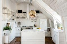 Dreamy attic home in Stockholm | Daily Dream Decor
