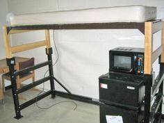 Best Versonel Metal Platform Loft Conversion Kit For Twin 640 x 480