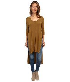 Free People Super Cycle Jersey Bad Girls Tunic Mineral Green - Zappos.com Free Shipping BOTH Ways