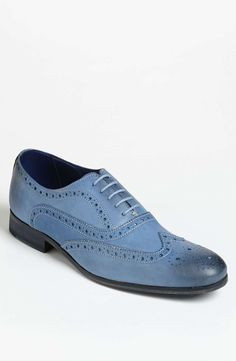 Love the Ted Baker London 'Terak' Wingtip on Wantering | You're A Shoe-In | mens blue leather shoes | dress shoes | menswear | mens style | mens fashion | wantering http://www.wantering.com/mens-clothing-item/ted-baker-london-terak-wingtip/1Wnyib3/